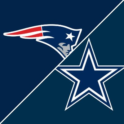 Get a summary of the New England Patriots vs. Dallas Cowboys football game
