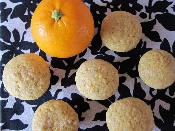 Orange pound cake mini muffins