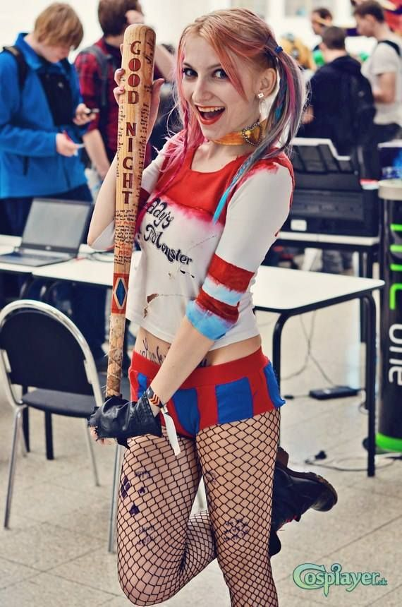 Harley Quinn (Suicide Squad) - Marty Harley Quinn Cosplay Photo - Cure…