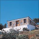 Fisherman's Cottage, Alonnisos: good for holiday hermits. Stone cottage is excellent escape for stressed out couples. Path down to quiet beach of Vamvakies. Open plan interior.