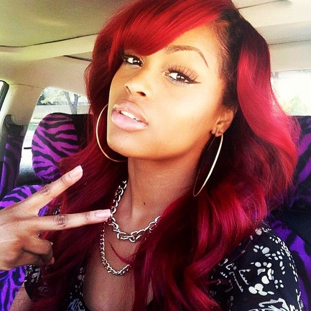 29 best flawless hair red images on pinterest braids black im in love with red hair black girls hairstyleslong hairstylesweave pmusecretfo Gallery