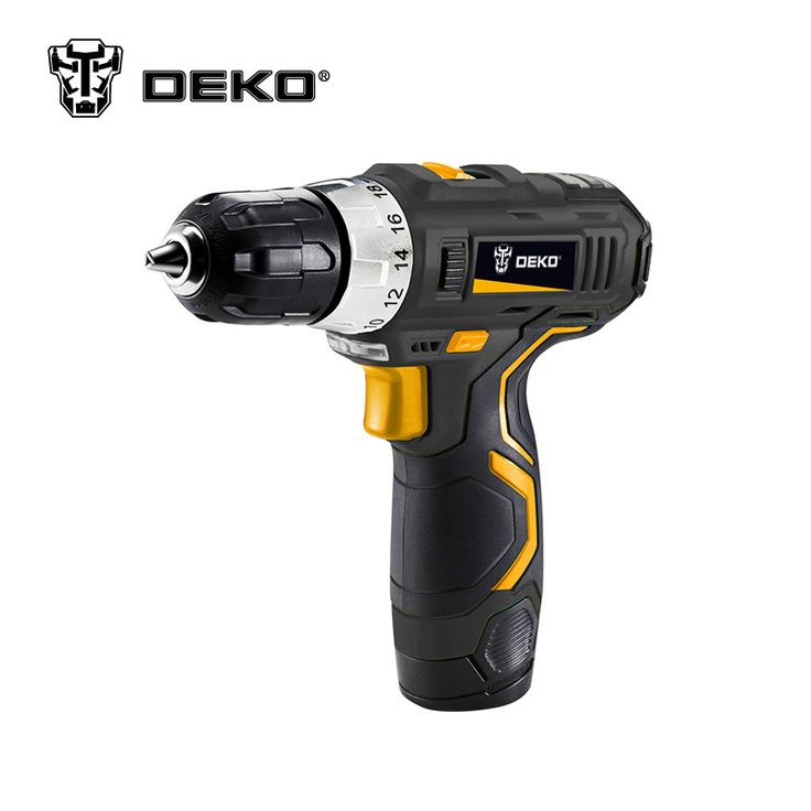 DEKO GCD12DU3 12V DC   Lithium-Ion Battery Cordless Drill Tool Electric Drill //Price: $66.48 & FREE Shipping //     #wood drills  #CARVING CHISEL  #Double Feather   #Board Router   #Drill Chuck Screwdriver   #Drill Bit