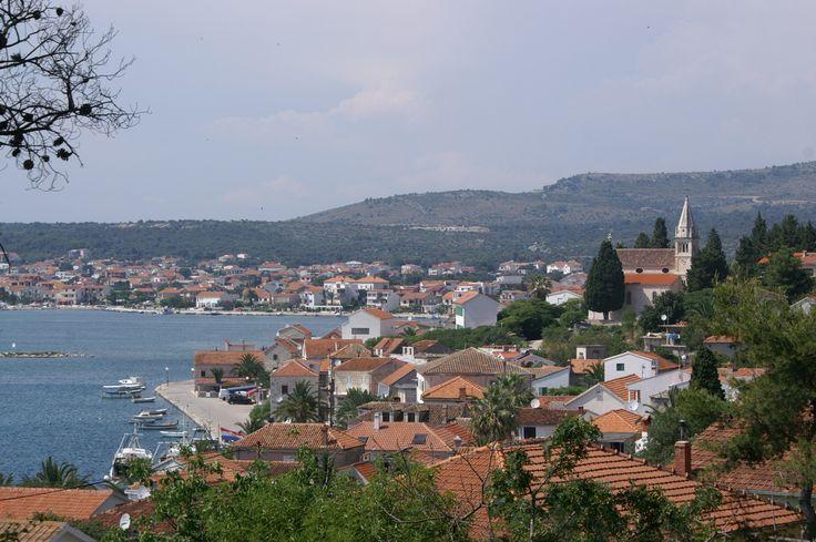 Panoramic view of Rogoznica Adriatic.hr