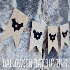 simple as that: Pumpkin Bunting: Simple Fall or Halloween Decor