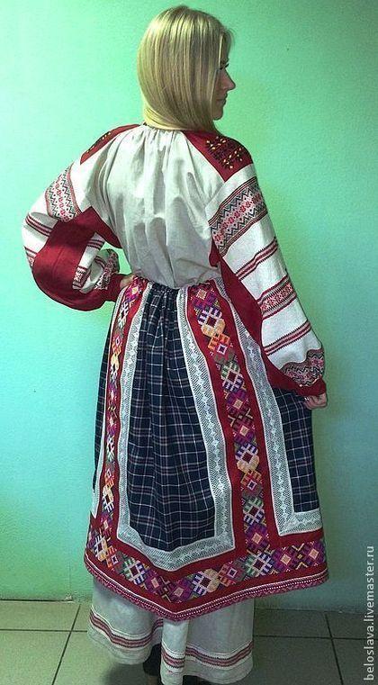 ПОНЕВА РАСПАШНАЯ - понева,юбка,женская одежда,русская традиция,русский костюм