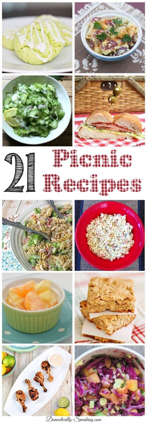 21 Picnic Recipes
