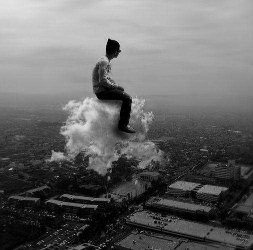 Auf Wolken reiten