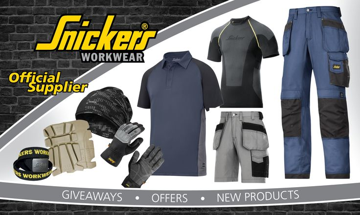 Have you handed in those warn out work trousers yet? put them to good use with 10% off Snickers trousers when you trade up from Dickies, Scruffs, Blackladder or Mascot, more information and details on our Snickers open day on our website http://www.thinkswift.co.uk/snickers-official-open-day/