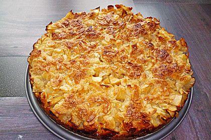 Apfelkuchen mit Mandelguss, ein tolles Rezept aus der Kategorie Kuchen. Bewertungen: 163. Durchschnitt: Ø 4,7.