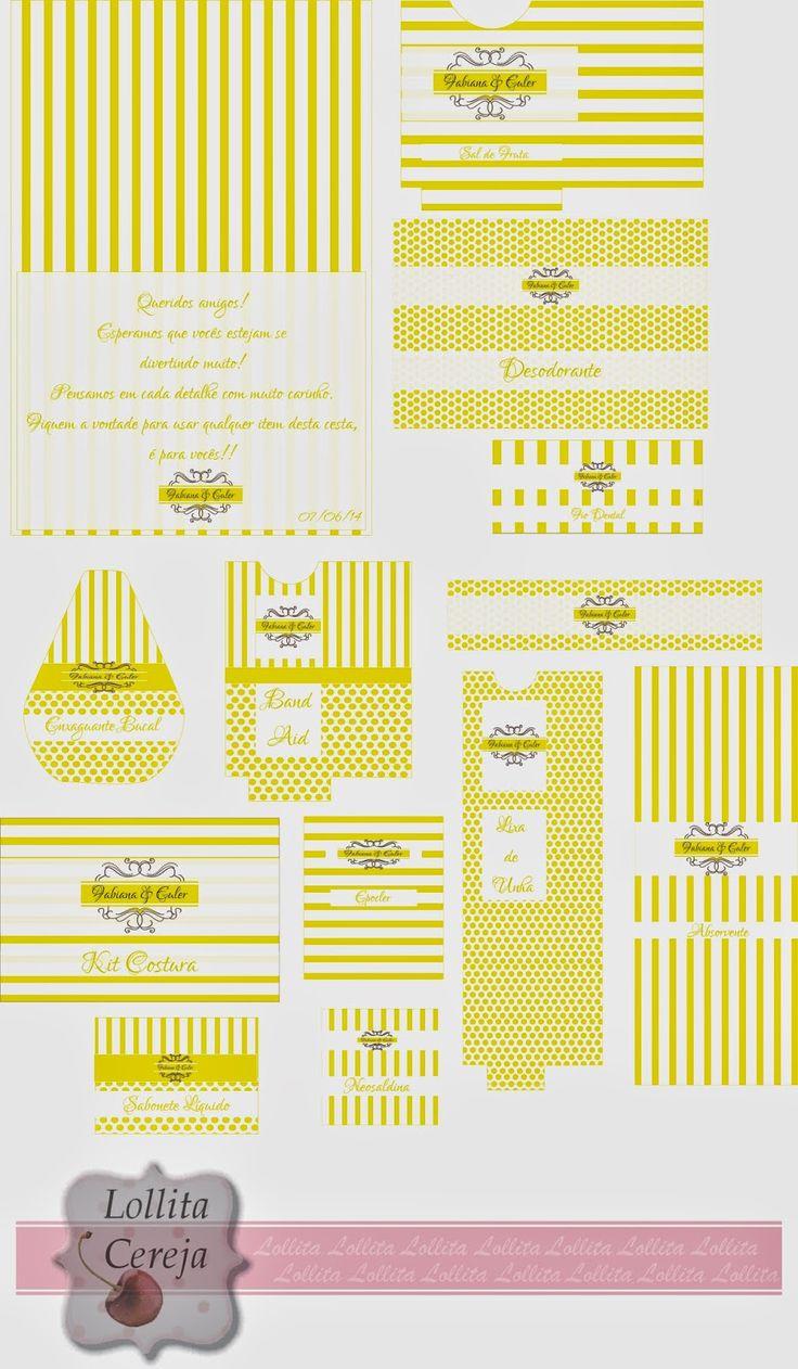 Lollita Cereja: Layout Kit Toillet Personalizado