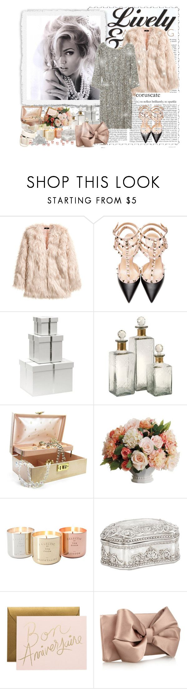 """Never too many never too much"" by nina-zet ❤ liked on Polyvore featuring H&M, Alice + Olivia, Valentino, Bungalow 5, Allstate Floral, Tom Dixon, Zara Home and Topshop"