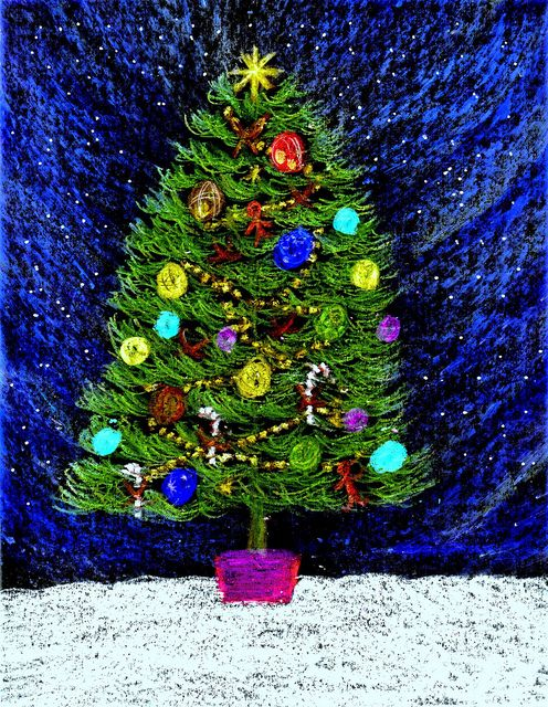 Christmas Tree by traqair57, via Flickr