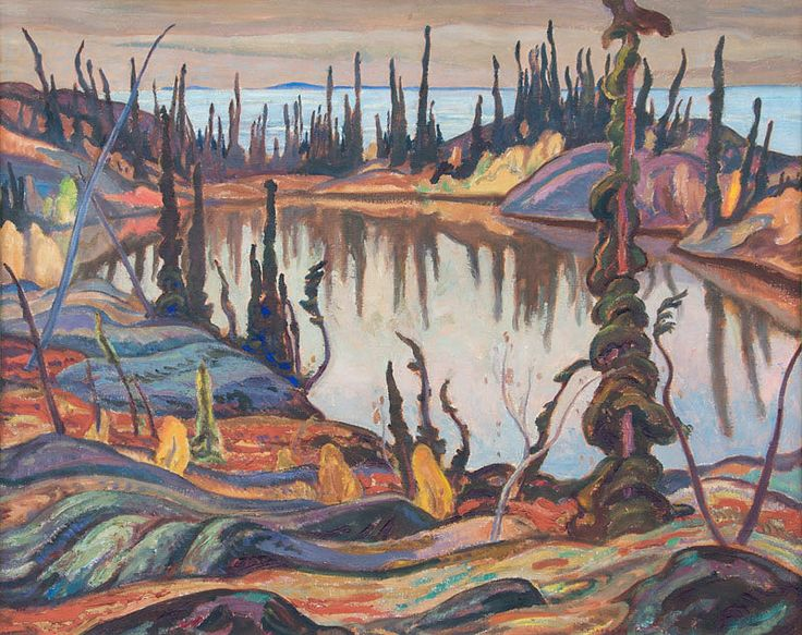 A.Y. Jackson Northern Landscapes Great Bear Lake 1938 - 39.