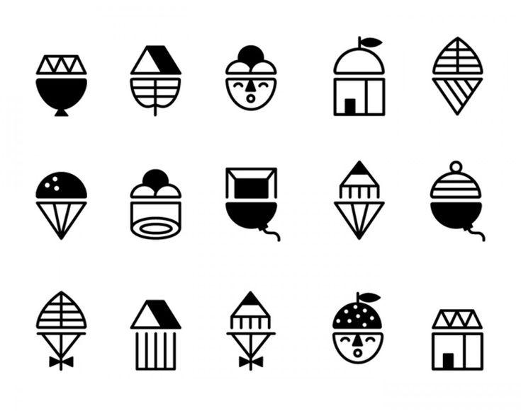 Icon Design by Sue Doeksen #icon #icons #icondesign #iconset #iconography #iconic #picto #pictogram #pictograms #symbol #sign #zeichensystem #piktogramm #geometric #minimal #graphicdesign #mark #enblem