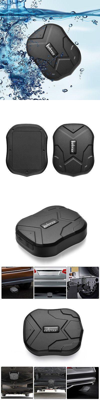 tracking devices tkstar mini sos alarm gps tracker locator for kids elders cars waterproof ps110