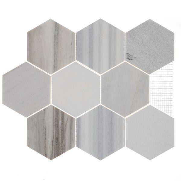 Harrison 4 X 4 Natural Stone Mosaic Tile Stone Mosaic Stone