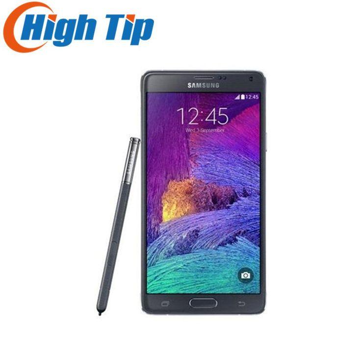3b364338fcc24 Note4 Original Unlocked Samsung Galaxy Note 4 N910A N910F N910P LTE  Smartphone 5.7 inch 16MP 3GB
