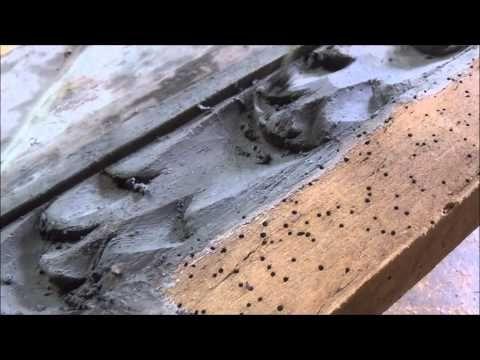 C mo tapar r pidamente carcoma en moldura tallada - Masilla para madera casera ...