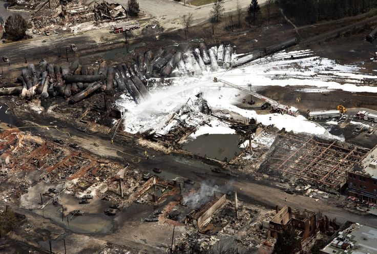 The Lac-Mégantic Rail Disaster is a Corporate Crime http://www.huffingtonpost.ca/wade-rowland/lacmegantic-corporate-crime_b_3574080.html