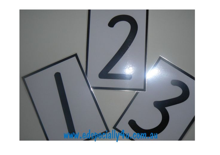 Fine Motor Numeral Cards.  These versatile cards can be used with whiteboard markers to practice writing skills.  Can also be used with other medium such as shaving cream and playdough to enhance fine motor skills. www.edspecially4u.com.au