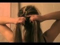 This video taught me how to french braid my own hair! So if your like me and want to learn how to do this i recommend this video! Im still not perfect at it but i know it will come with time!