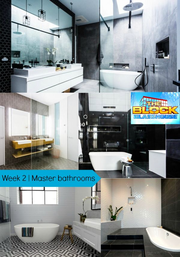 The Block Glasshouse | Master bathroom reveals | Blossom and Bright | diy and design