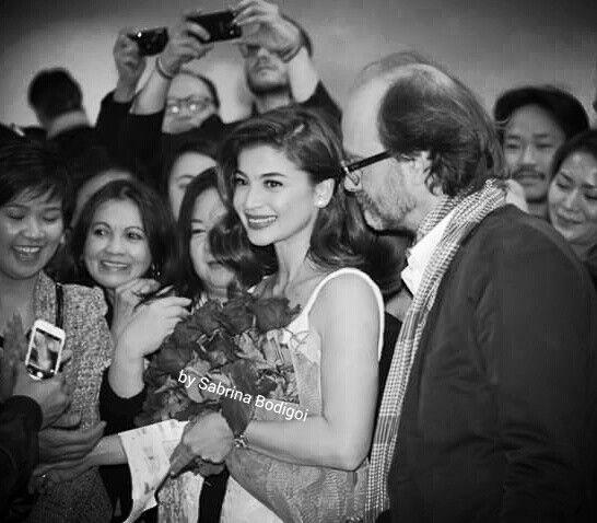 Actress Anne Curtis at Far East Film Festival (photo by Sabrina Bodigoi)