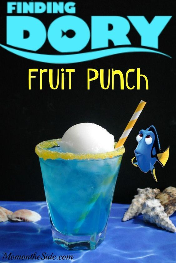 Finding Dory Fruit Punch Recipe in your pocket for any Finding Dory parties you find yourself planning!