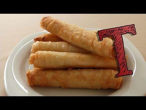 Turkish Borek Recipe | Cigarette Borek Recipe - YouTube