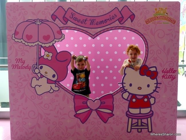 Our Sanrio Hello Kitty Town Johor Bahru Malaysia review and our Thomas Town Malaysia review from our visit to the Joho Bahru area with preschoolers