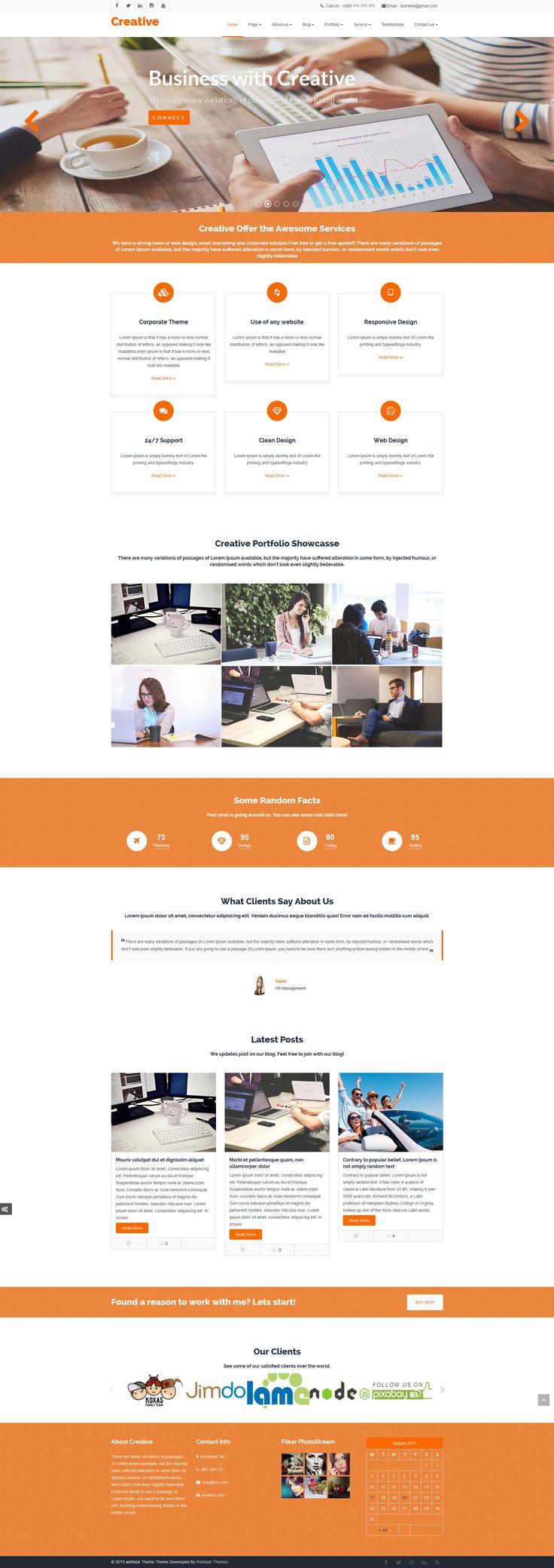 Creative Premium WordPress Theme