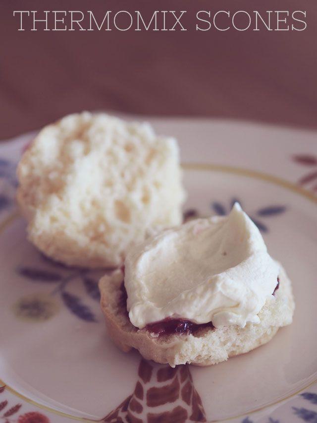 In the Thermomix: Pretty delicious scone recipe