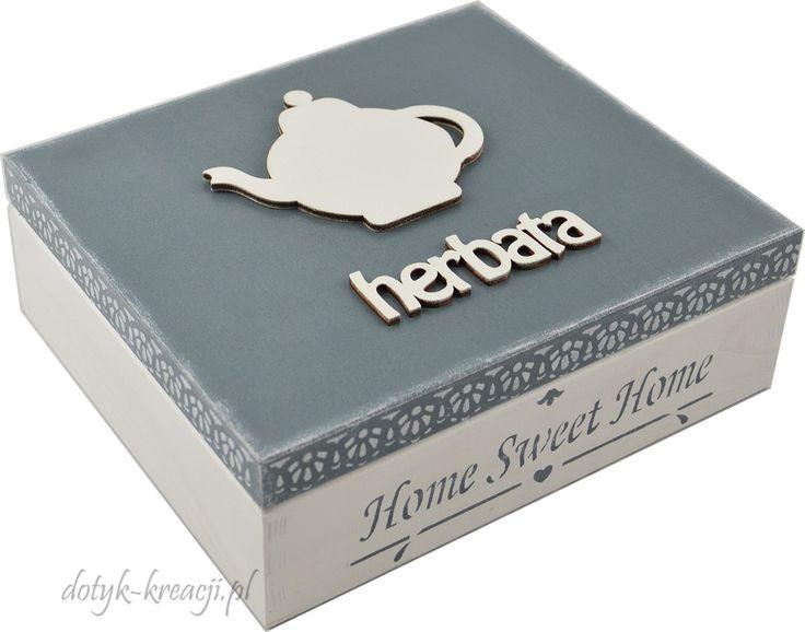 Śliczna herbaciarka, nada przytulnego klimatu każdej kuchni. Do kupienia na http://dotyk-kreacji.pl/