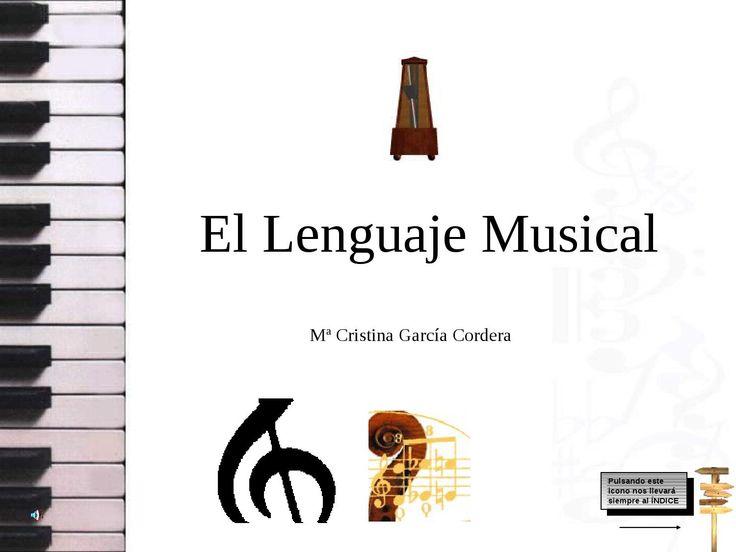 Presentación sobre el lenguaje musical
