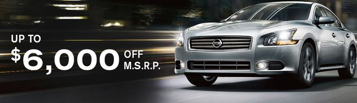 APRIL LEASE SPECIALS  New 2014 Maxima's up to $6000 off M.S.R.P http://www.naplesnissan.com/newspecials.aspx #Nissan #carbuying #newcars #specials #2014Maxima #sedans #SWFL