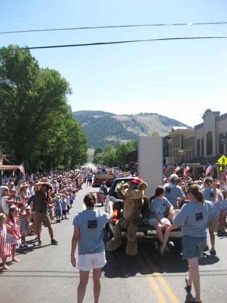 jackson hole wyoming 4th of july parade