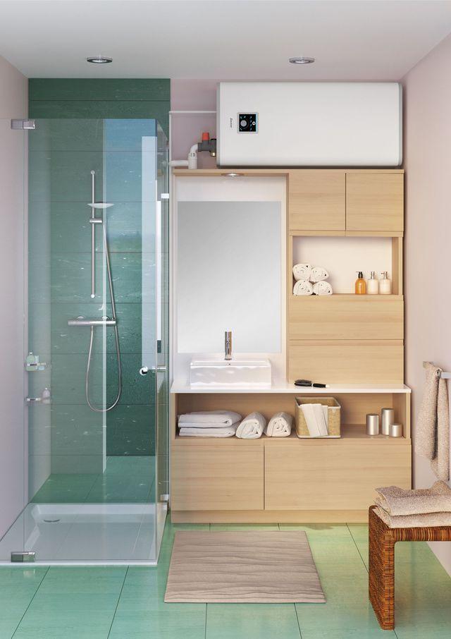 Les 25 meilleures id es de la cat gorie chauffe eau sur pinterest - Petit chauffage salle de bain ...