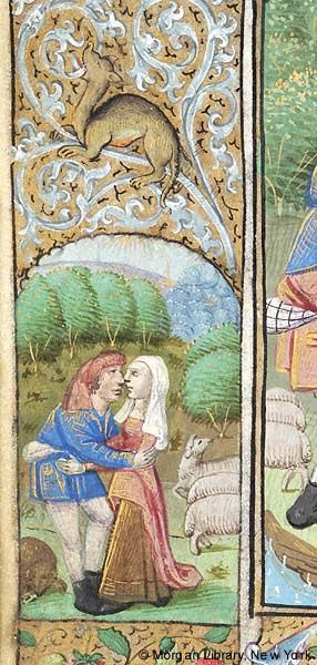 Book of Hours, MS M.131 fol. 52v - Images from Medieval and Renaissance Manuscripts - The Morgan Library & Museum