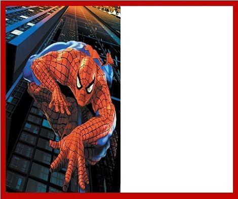 Invitaciones Hombre Ara Kit Imprimible Cumple Spiderman Picture Quotes