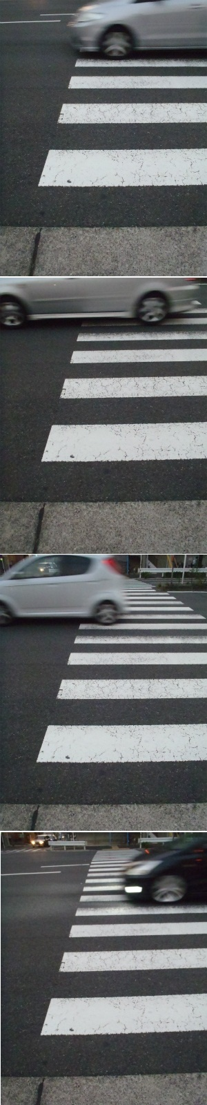 横断歩道 Crosswalk