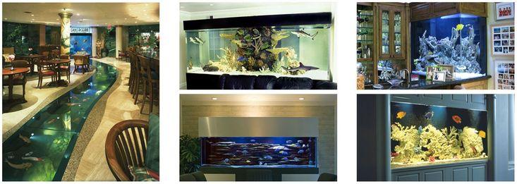 Build the custom aquarium that suits your needs and exceeds your expectations. Call our Los Angeles aquarium specialists at Living Art Aquatic Design, Inc.!