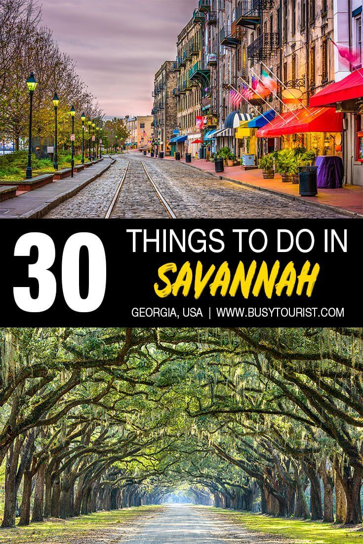 30 Best Fun Things To Do In Savannah Georgia Usa Travel Destinations Cool Places To Visit Places To Visit
