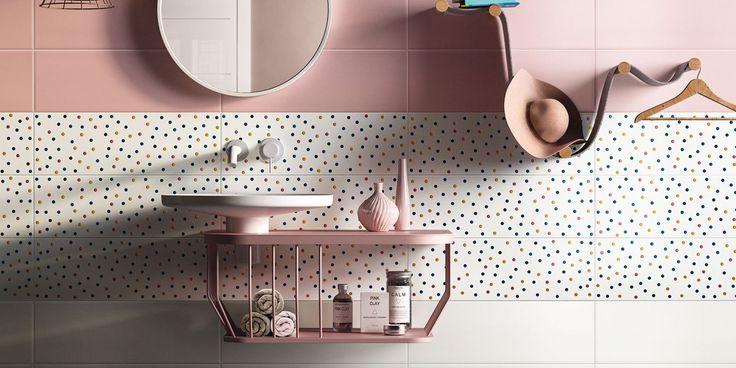 PIASTRELLE PLAY, bathroom modern ceramica double-fired wall tile [AM PLAY 3]