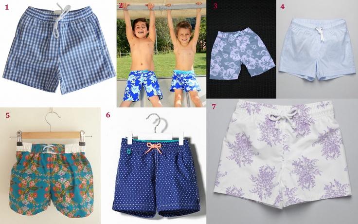 1- Maria Concha; 2- MIM - Castil; 3- Espiguilha; 4- Neck & Neck; 5- Tictac Babies; 6- Massimo Dutti; 7- Neck & Neck