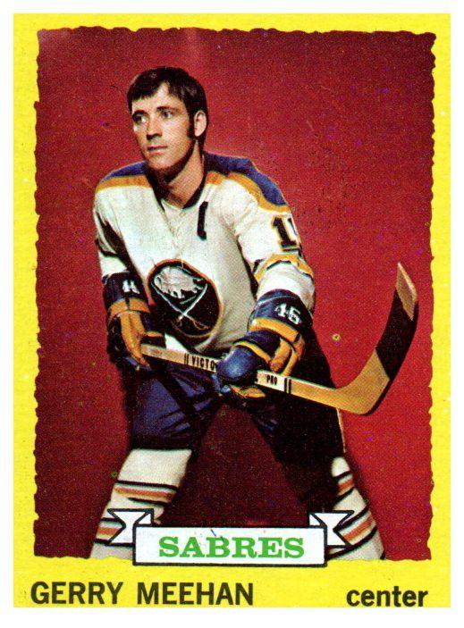 1973 Topps Gerry Meehan Buffalo Sabres
