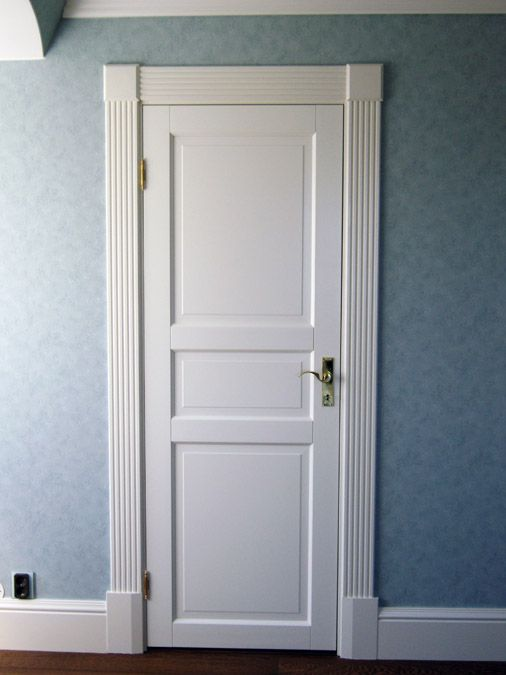 Door and mouldings...