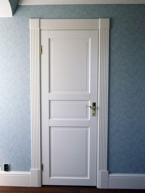 Door and mouldings...