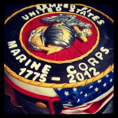 Charm City Cakes Marine Corps Birthday