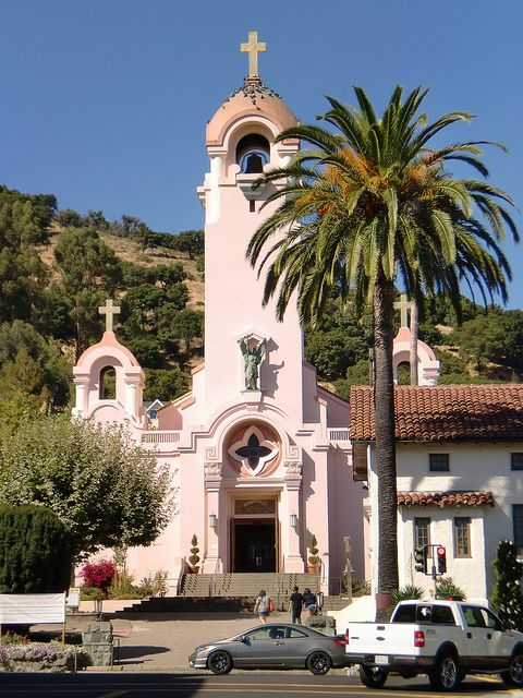 Go visit the Mission San Rafael Arcangel by Vera Michels in downtown San Rafael, CA - Marin County