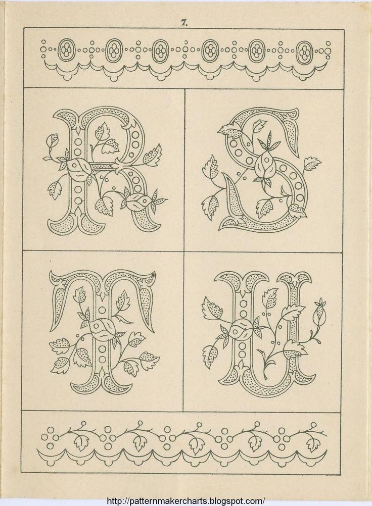 Best images about abecedarios on pinterest drop cap